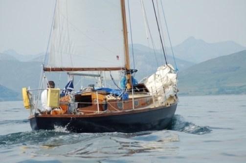 S Class canoe stern