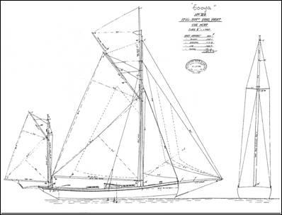 original sailplan