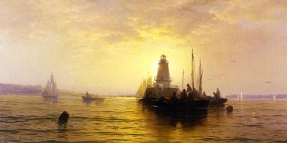 Sunset - New York Bay