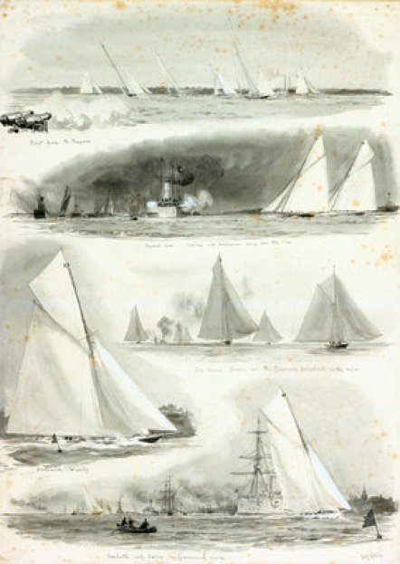 Big Yacht race, Thames