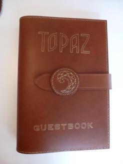 Topaz guest book