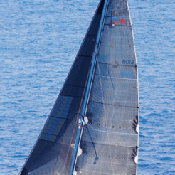 Hull No. 12 Spirit (previously 'Orm') was one of 4 sloop Swan 65's