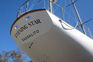 Evening Star stern