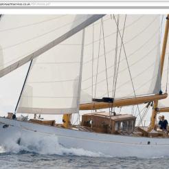 Alinda V sail