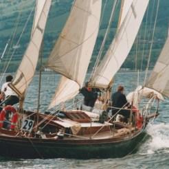Sailing off Carrickfergus