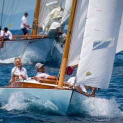 Argentario sailing Week 2016 - Raindrop and Rowdy in the background