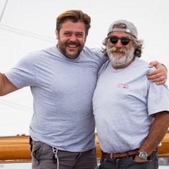 Andrea Lo Cicero and Franco Zamorani on Chinook