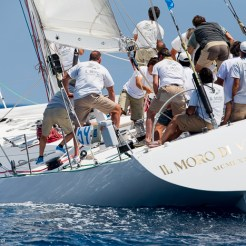 Antibes, France, 5 June 2016, Panerai Classic Yacht Challenge 2016, Voiles D'Antibes 2016, Moro di Venezia Ph: Guido Cantini / Panerai / SeaSee.com