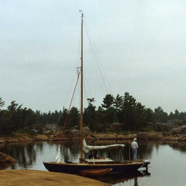 Touch Wood at Dock Island, 1992.
