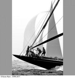 Karen Ryan - Hanuman & Topaz, J-Class Worlds, Newport