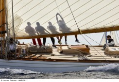 Laurent Thareau - The 15-Metre Hispania, Les Voiles de St Tropez.