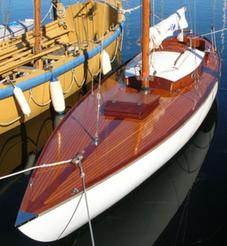 Honky Tonk moored up
