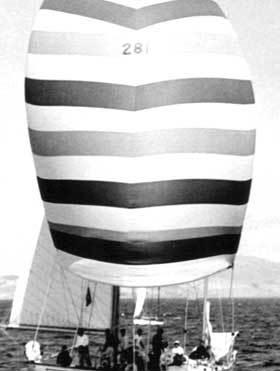 ONDINE II, Sydney - Hobart race, 1962