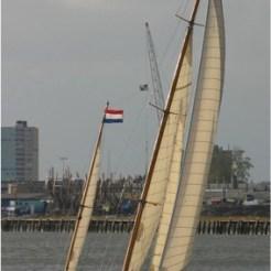 Marianne under sail