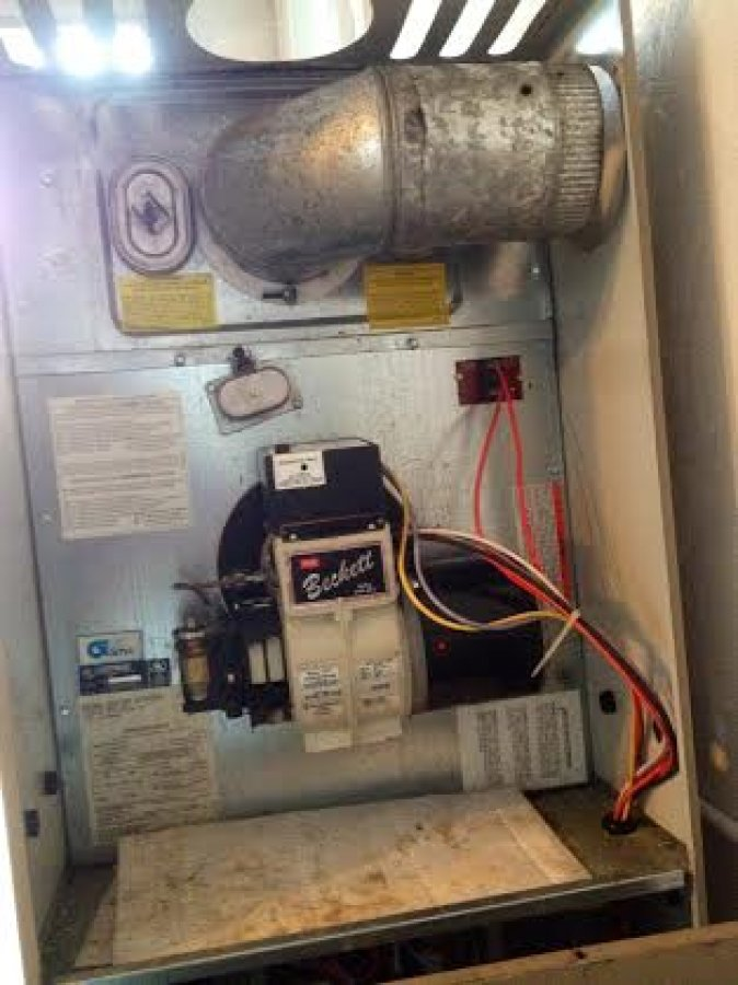 Ducane Furnace Manual Oil Extractor