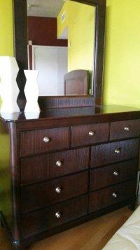 Darl Solid Wood King Size Bedroom Set   San Diego 92101 ...