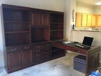 Office desk and shelf combo | Las Vegas 89130 Personal ...