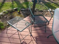 Deck table and chairs | Lansing 49073 Nashville | Lawn and ...