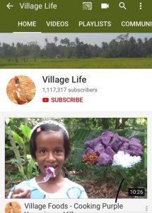 youtube 1 million srilanka user 2