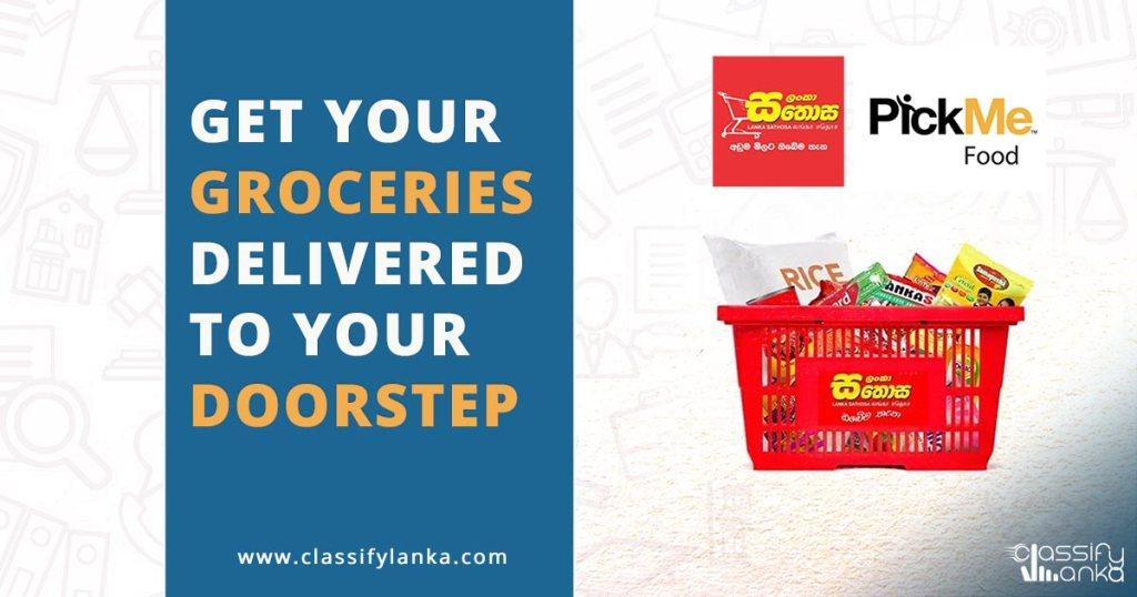 food delivery in Sri Lanka