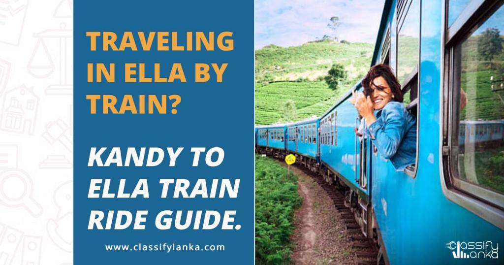 Kandy to Ella travel guide