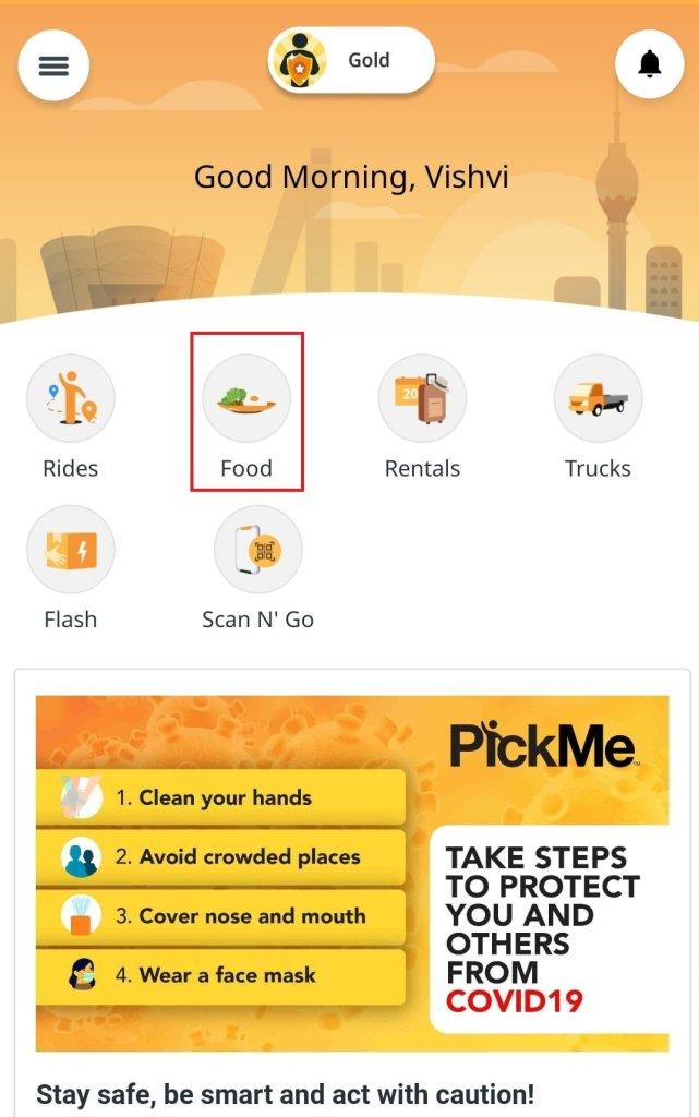 pickme food guide