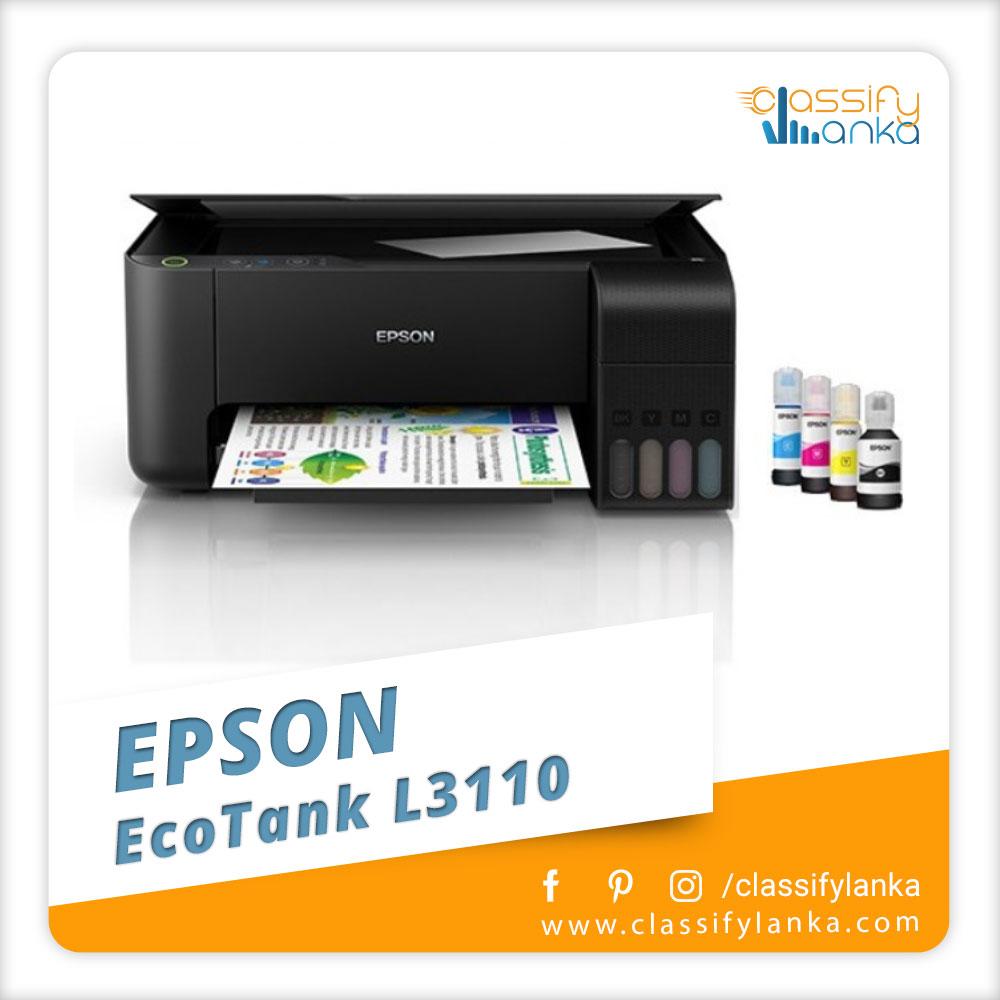 Epson EcoTank L3110 All-In-One Ink Printer