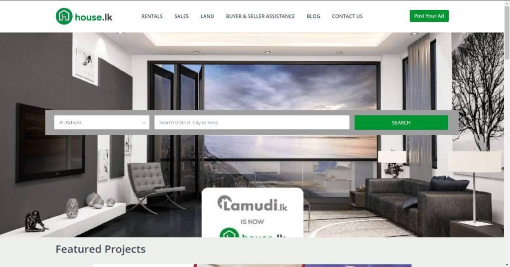 HouseLanka property search site