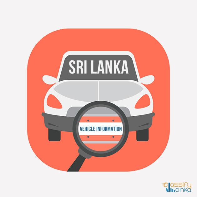Vehicle Info Sri Lanka