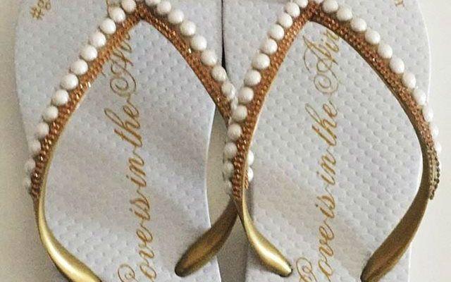 Sandalias Personalizadas Casamento