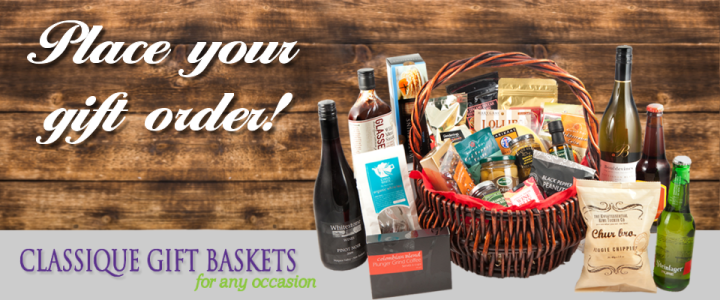 Classique Gift Baskets for Corporate and Individual Orders