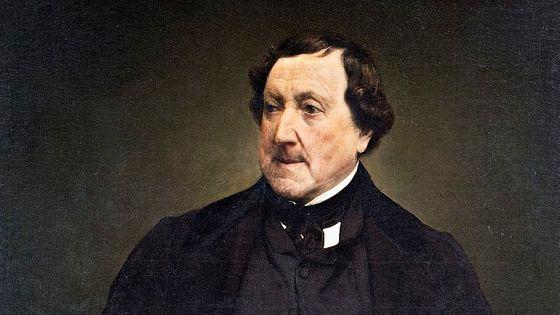 Le compositeur Rossini