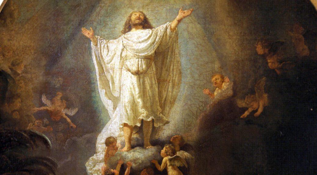 Tableau de Rembrandt - L'Ascension