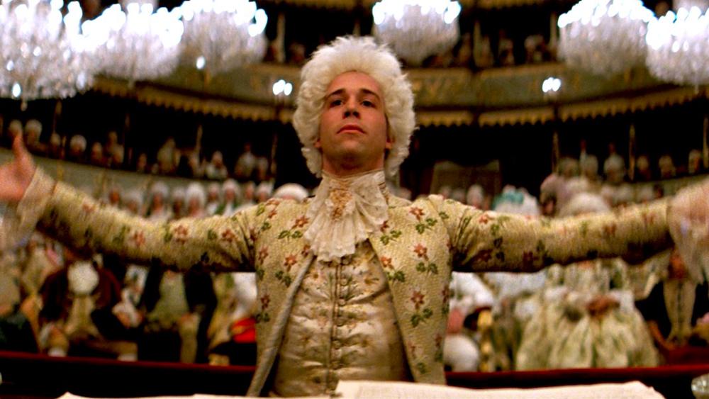 Le compositeur Mozart dans le film Amadeus