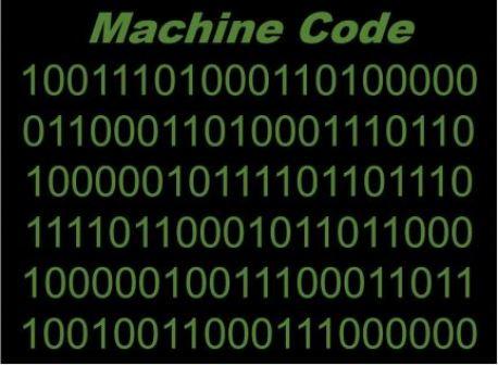 Machine-code COMPUTER PROGRAMMING LANGUAGE classnotesng