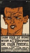Work by Egon Schiele, found at Mom.org