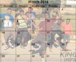 March Hit Dem Folks