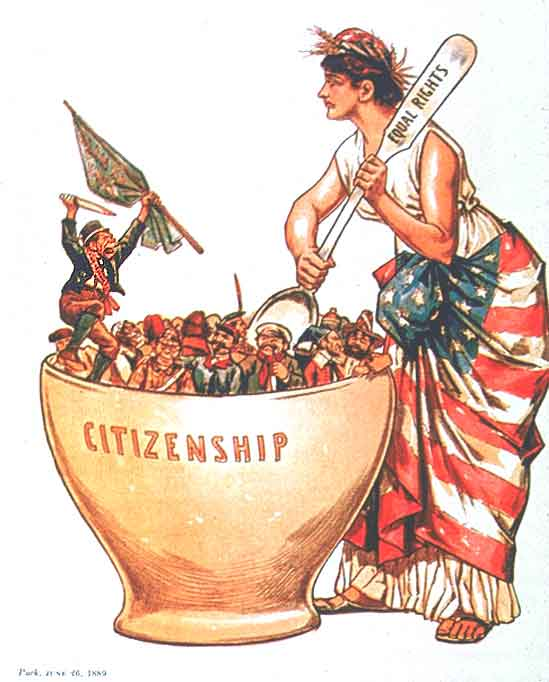 America Melting Pot Or Tossed Salad?  Crg@cgp