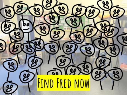 Now it's much harder to find a smiling Fred.