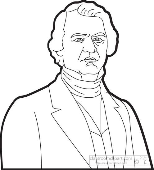 American Presidents : president-andrew-johnson-outline