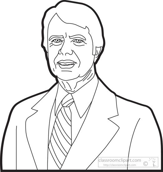 American Presidents : president-jimmy-carter-clipart
