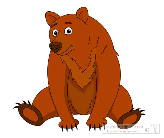 animal clipart - bear