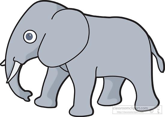 elephant clipart clipart- 229a