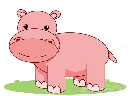 Hippo Clipart Clipart cutehippocartoon186 Classroom
