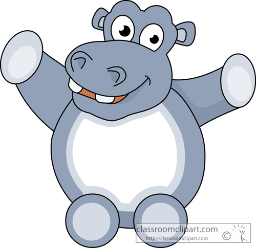 Hippo Clipart cutehippopotamusanimal11 Classroom