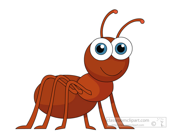 insect clipart - ant-character-insects-917