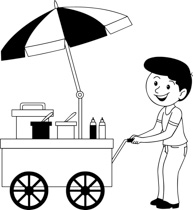 Free Black And White Food Outline Clipart Clip Art Pictures Graphics Illustrations