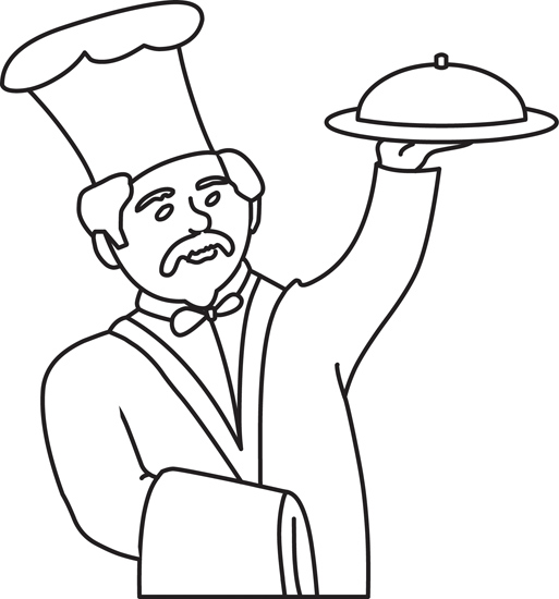 Food : culinary-review-13-outline : Classroom Clipart