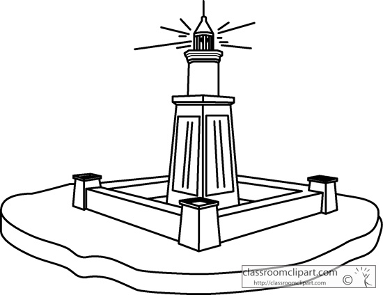 History : the_lighthouse_of_alexandria_outline : Classroom