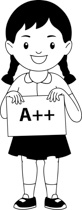 Free Black and White School Outline Clipart Clip Art Pictures Graphics Illustrations